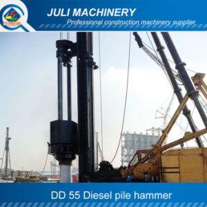 Dd 55 Leader Type Diesel Pile Hammer. Diesel Hammer