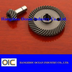 Steel Spiral Bevel Pinion Gear pictures & photos