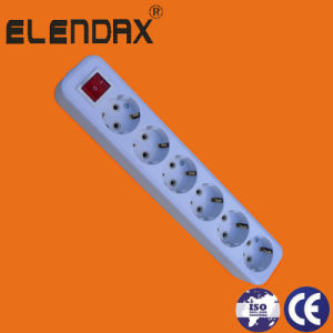 6 Way Extension Cord Multiple Socket (E8006ES) pictures & photos