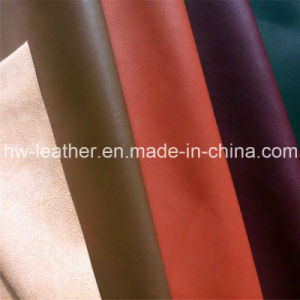 Abrasion Resistant Microfiber PU Leather for Shoes, Car Seat, Furniture pictures & photos