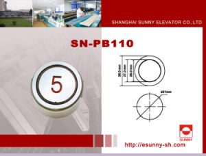 Elevator Braill Push Button (SN-PB110) pictures & photos