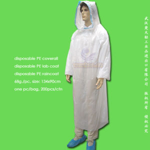 Disposable PE Protective Coverall pictures & photos