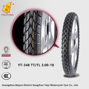 China 8pr Top Quality Motorcycle Tire Yt-348 Tt/Tl3.00-18 pictures & photos