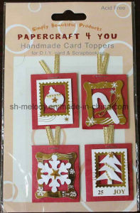 Christmas Handmade Card Toppers for DIY Card and Scrapbooking pictures & photos