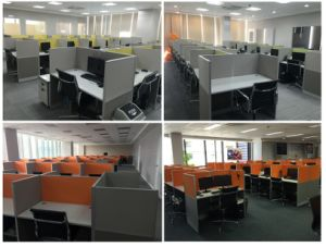 Office Partition Call Center Design Manufacturer (FOHC-301) pictures & photos