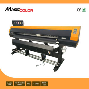10FT Eco Solvent Flatbed Inkjet Printer Machine with Epson Dx10 for Sav pictures & photos