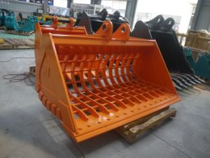 20t Excavator Attachment of The Sieve Bucket with 2200mm Width pictures & photos