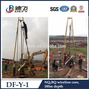Small Portable Core Drilling Rig Df-Y-1 for Mineral Sample and Spt pictures & photos