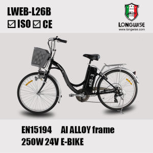 "26"" Lead Acid Battery Cheap Electric Bicycle (LWEB-L26B) pictures & photos"