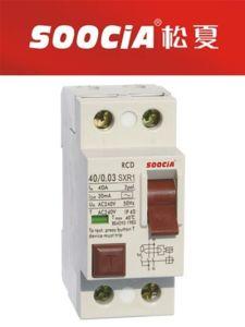 Sxr1 RCCB Residual Current Circuit Breaker Nfin 2p