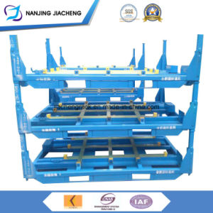 Most Popular Heavy Duty Stackable Tyre Rack with High Quality pictures & photos