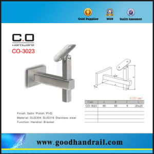 Flexible Stair Handrail Bracket (CO-3023) pictures & photos