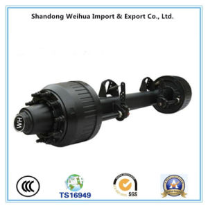 BPW Style Axle Semi Trailer Axles From China Factory pictures & photos