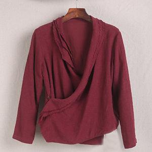 11s 55%Linen 45%Cotton Fabric, Crinkle Plain Cotton Linen Fabric pictures & photos