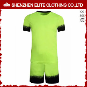 High Quality Polyester Wonderful Green Jerseys (ELTSJI-19) pictures & photos