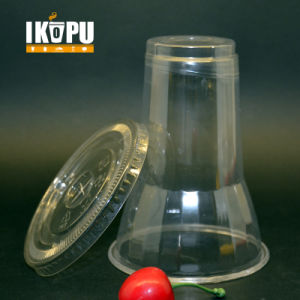 Pet Plastic Type and Disposable Pet Plastic Cup with Lid pictures & photos