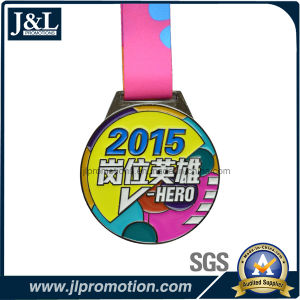 High Quality Sports Gold Metal Medal with Lanyard pictures & photos