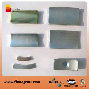Segment Shape Motor Neodymium Magnet N35-N52 pictures & photos
