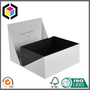 Middle Open Rigid Cardboard Paper Gift Packaging Box pictures & photos