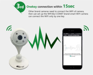 Hot Sale WiFi Digital Security IR Video Camera for Home pictures & photos