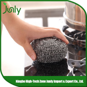 Pot Scourer spiral Scourer Stainless Steel Cleaning Ball pictures & photos