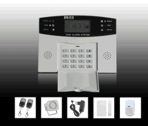 LCD APP Android Voice Prompt GSM Alarm System pictures & photos