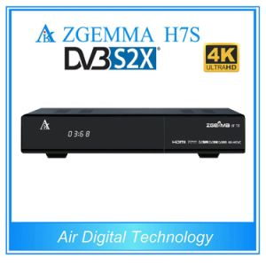 2017 New Ultra CPU Arm Dual Core 4k Kodi Uhd TV Box Zgemma H7s Combo Box with 2*DVB-S2X+DVB-T2/C Triple Tuners pictures & photos