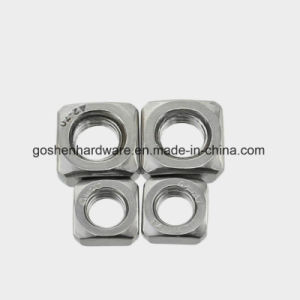Stainless Steel Square Nut DIN557 M5 pictures & photos