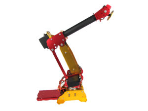 Arduino-Powered Desktop 6 Dof Parallel-Mechanism Metal Robot Arm Palletpack Industrial Safety Robot Arm pictures & photos