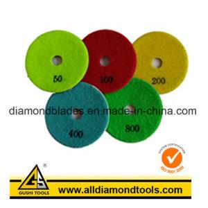 5 Step Diamond Polishing Pad pictures & photos
