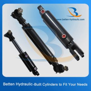 375 Bar Hydraulic Cylinder with Swivel Ball Mounts pictures & photos