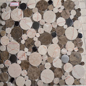 Pebble Marble Mosaic pictures & photos