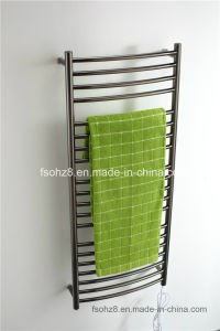 Intelligent SS Bathroom Electric Heated Warmer Towel Rail 9001 pictures & photos