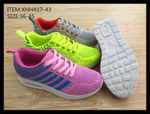 Latest Design Injection Sport Shoes Running Shoes Comfort Shoes (XHH417-43) pictures & photos