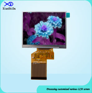 3.5 Inch LCD Screen 320 (RGB) × 240 Resolution LCD Display with 550CD/M2 Brightness pictures & photos