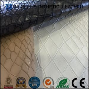 Various Colors PVC Faux Leather for Sofa/Furniture Upholstery/Cushion Home Interior Decoration pictures & photos
