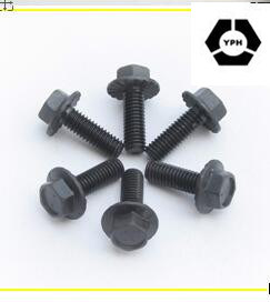 Stainless Steel DIN6921 Hex Flange Bolts with Black pictures & photos