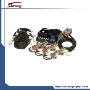 Warning Super LED Hideaway 4 Head Strobe Kits (LED337E) pictures & photos