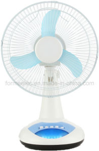 "12"" AC DC Desk Fan 15W Electrical Table Fan pictures & photos"