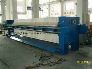 Recessed Chamber Press Filter for Zinc Sulfate Slurry pictures & photos