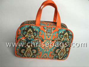 Microfiber Leisure Hand Cosmetic Bag pictures & photos