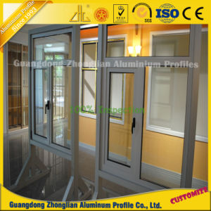 Custom Powder Coated Anodized Aluminum Extrusion Window and Door Profile pictures & photos