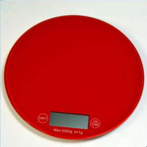 China Digital Kitchen Food Scale 5kg/11lb with Tare Faction pictures & photos