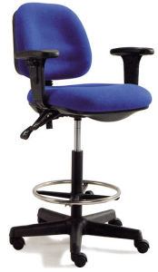 Fabric or Plastic School Library Lab Stools Bar Chairs (HX-5830) pictures & photos