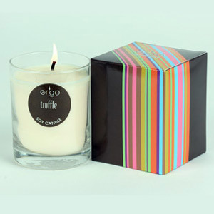 Water Lily Natural Soy Wax Candle
