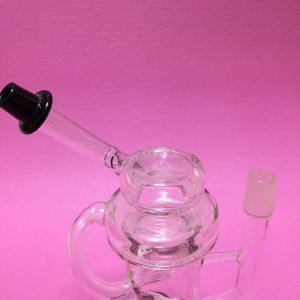 Glass Water Pipe in Stock DAB Rig Recycler Oil Rig pictures & photos