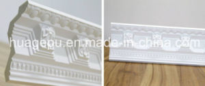 Corlor Polyurethane PU Foam Crown Cornice Moulding pictures & photos