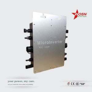 IP65 110/220V AC Quad Output Grid Tie Micro Inverter 1200W pictures & photos