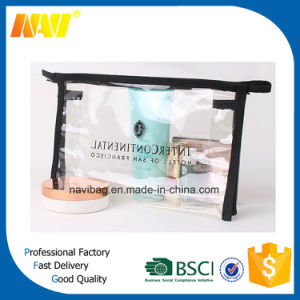 Custom Promotion Waterproof Clear PVC Cosmetic Bag pictures & photos