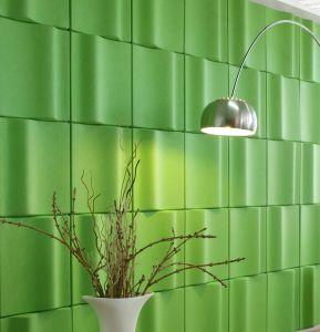 E0 Class Environmental Guarantee Polyester Fiber Acoustic Board pictures & photos